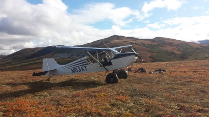 Wade Stewart Moose Retrieval Plane